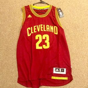Lebron James Authentic NBA Jersey.